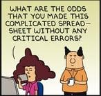 Excel comic
