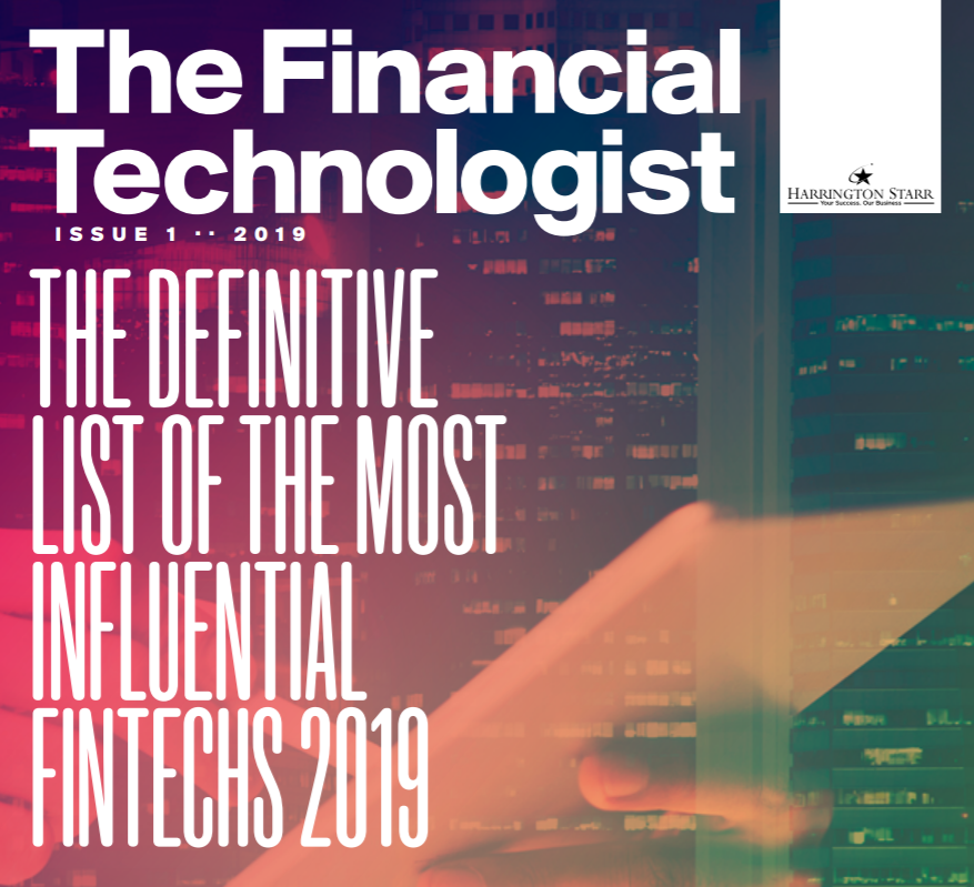 Harrington Starr's Definitive List of the 100 Most Influential FinTech Companies for 2019