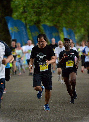 Ed running