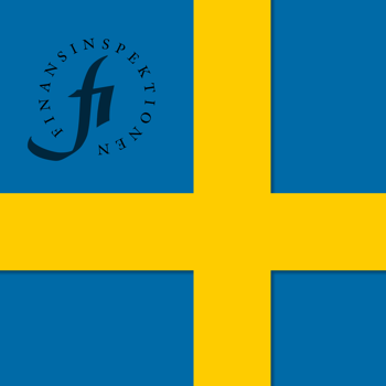 Swedish Flag with SFSA Logo embedded in the top right.