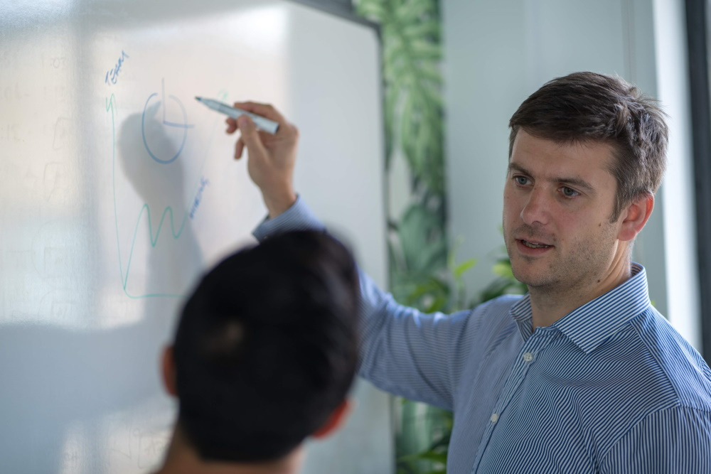 Toby teaching
